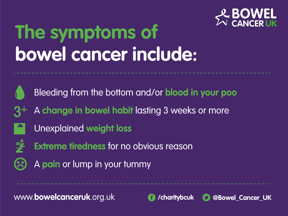 Bowel Cancer Awareness Month 2017 Nhs Thurrock Ccg