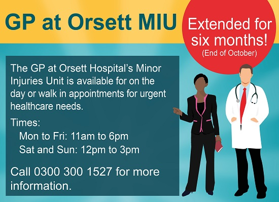 orsett gp extension until end of October no.2